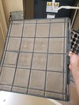 Dirty HVAC air filter