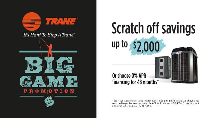 Save big this Fall with Trane and Valley Heating, Cooling & Appliances